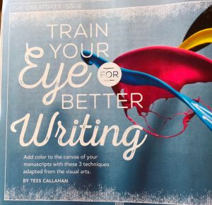 Writer's Digest Better Writing Tess Callahan