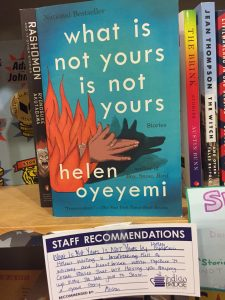 Indigo Bridge books Helen Oyeyemi