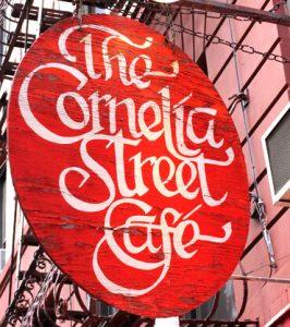 Tess Callahan Cornelia Street Cafe