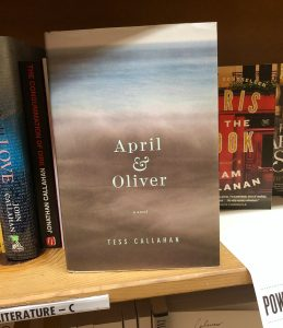 Tess Callahan April and Oliver Powell's